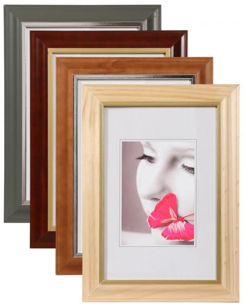 Bilderrahmen Holz Anthrazit ~   the wall art bilderrahmen zermatt 30×40 bilderrahmen foto zubehör
