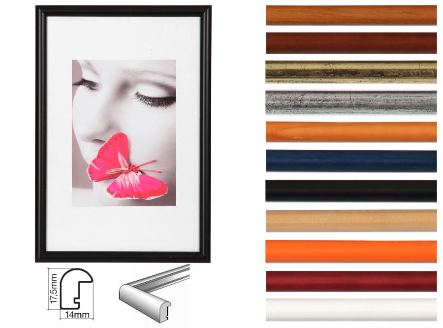 new york bilderrahmen holz 10x15 13x18 15x20 18x24 20x30 30x40 30x45 40x50 idealfoto. Black Bedroom Furniture Sets. Home Design Ideas
