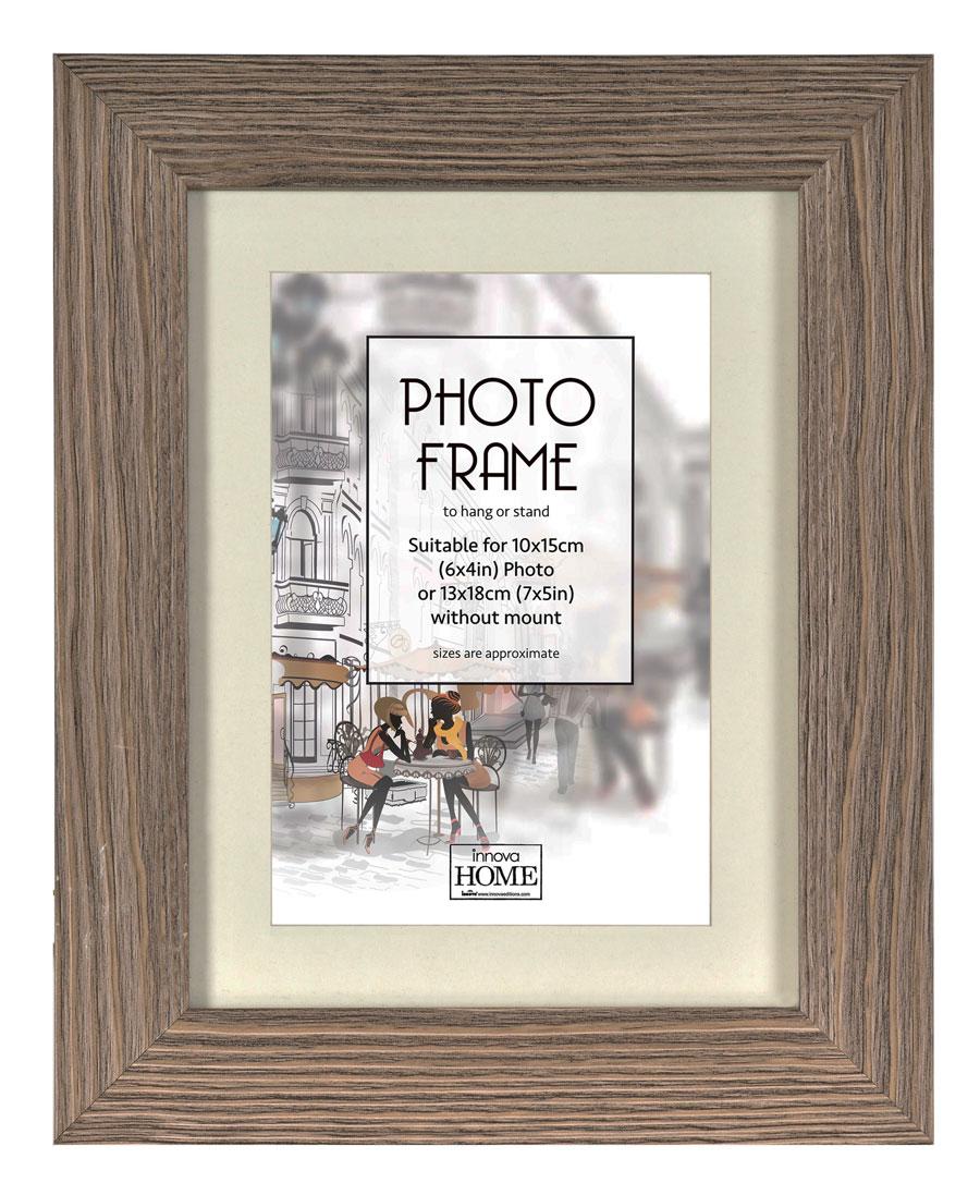 brockwood bilderrahmen in grau 10x15 cm bis 60x80 cm bilder foto rahmen idealfoto. Black Bedroom Furniture Sets. Home Design Ideas