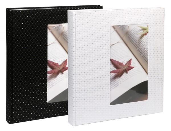 Diamond Fotoalbum 29x32 cm 60 Seiten Stoffeinband