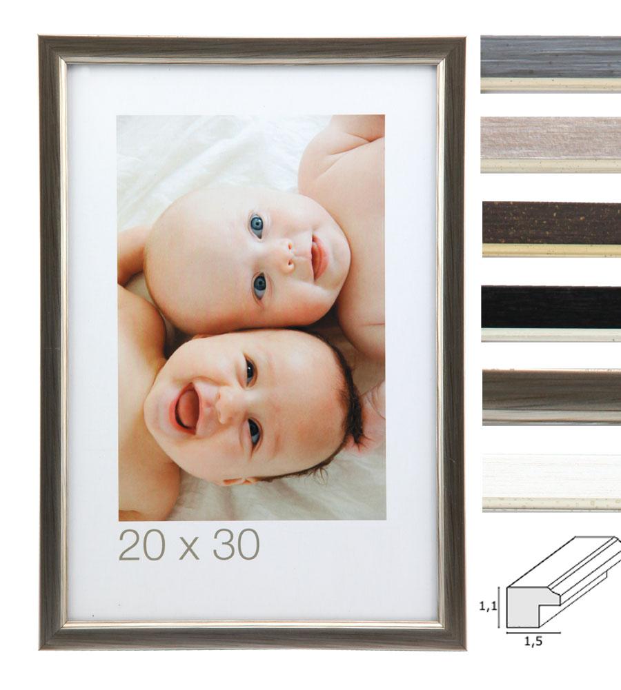 Bilderrahmen Tamigi braun 40x50 cm