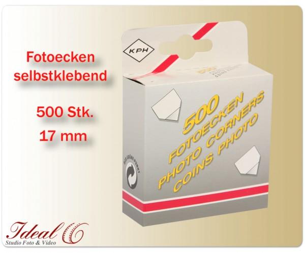 Fotokleber Fotoecken selbstklebend 500 Stück Klebeecken Foto Ecken