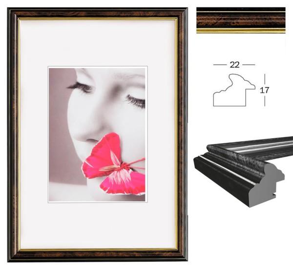 Smell Bilderrahmen in Nuss 10x15 13x18 15x20 20x30 A4 30x40 40x50 Foto Rahmen