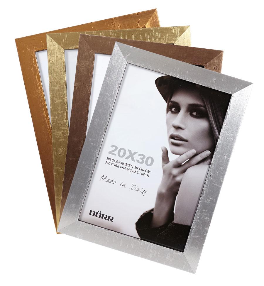 Milo Holz Bilderrahmen 10x15 bis 50x70 cm Bronze Gold Kupfer Silber ...