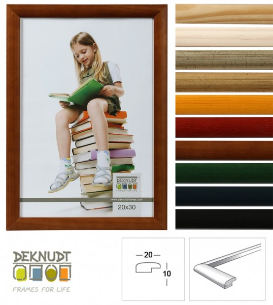 Promo Ideal Holz Bilderrahmen in viele Größen viele Farben Foto Rahmen