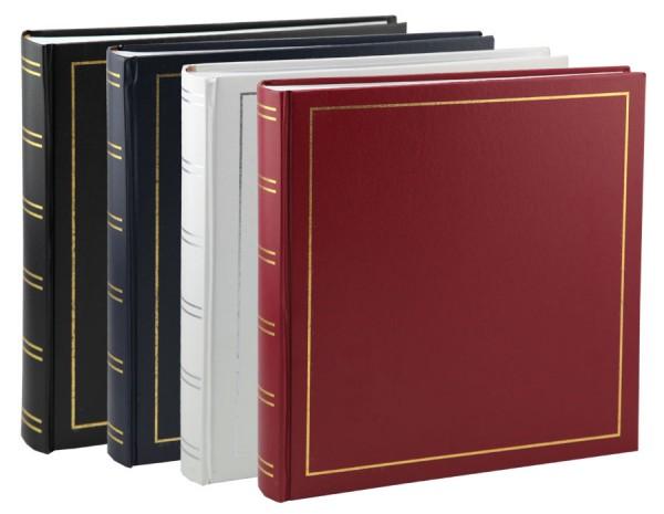 Tradition Fotoalbum in 33x35 cm 100 weiße Seiten Buchalbum Jumbo Foto Album