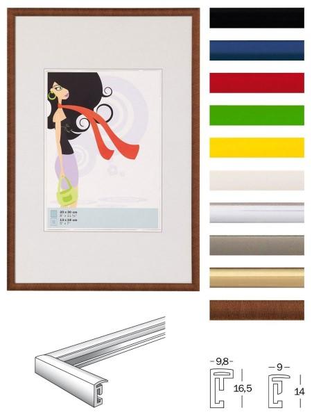 New Lifestyle Kunststoff Bilderrahmen 10x10 bis 70x100 Bilder Foto Rahmen