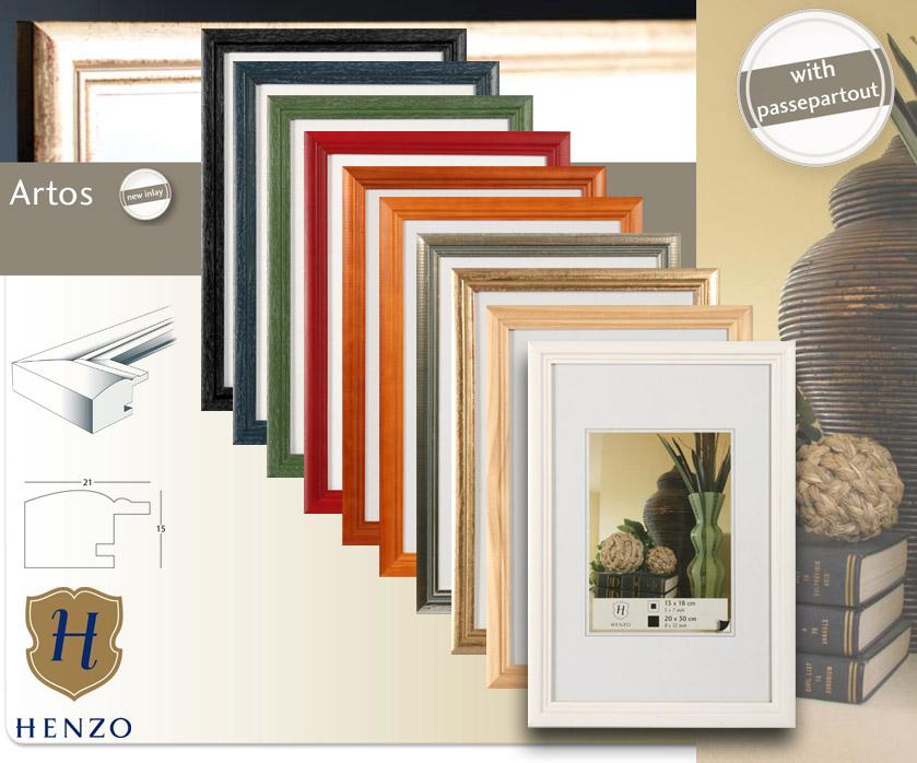 Relativ Artos Bilderrahmen Holz Rahmen 10x15 13x18 15x20 20x30 A4 30x40 LE07