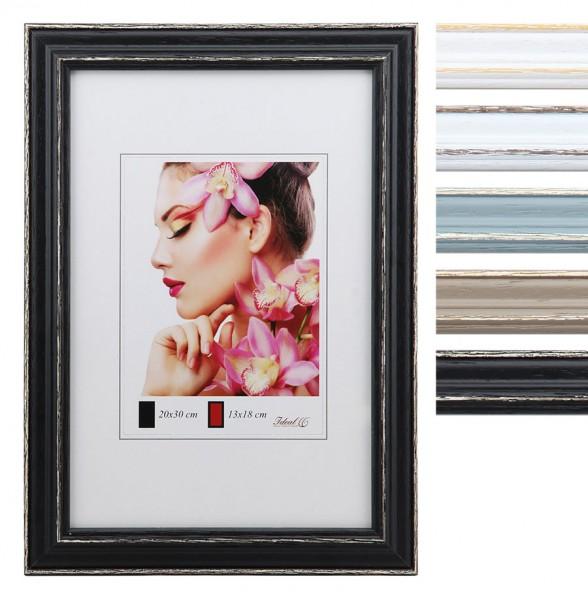 Classic Line Holz Bilderrahmen in 10x15 cm bis 50x70 cm Bilder Foto Rahmen