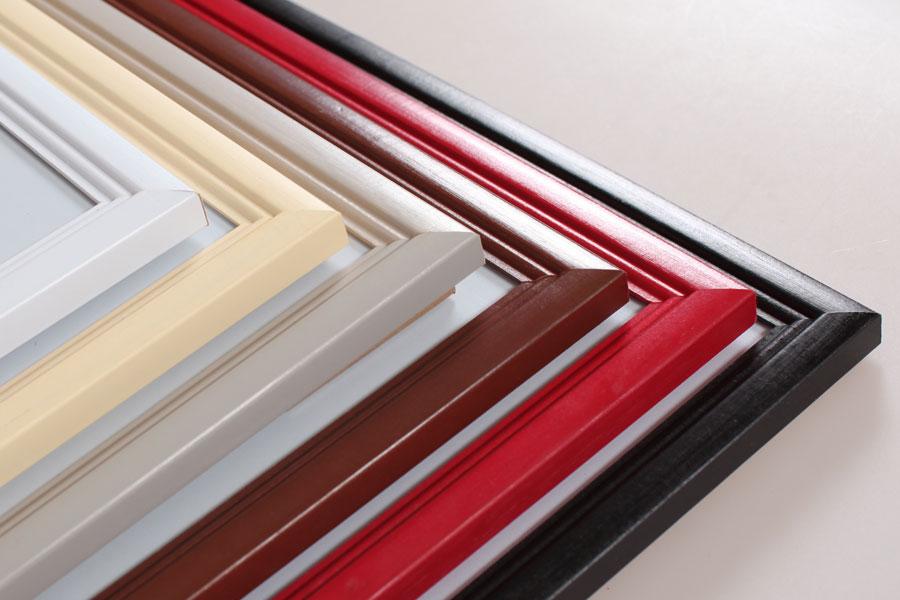 Living Holz Bilderrahmen in 10x15 cm bis 40x60 cm 6 Farben Foto ...