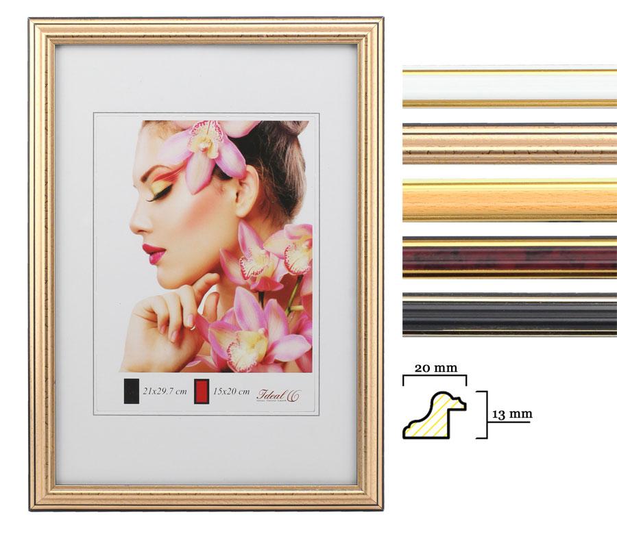 Klassik Bilderrahmen 13x18 cm bis 50x70 cm antiker klassischer Foto Rahmen