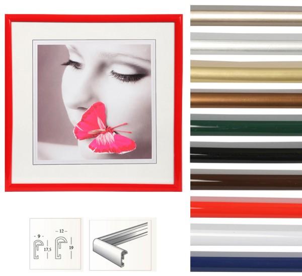 New Lifestyle Kunststoff Bilderrahmen quadratisch 20x20 30x30 40x40 50x50