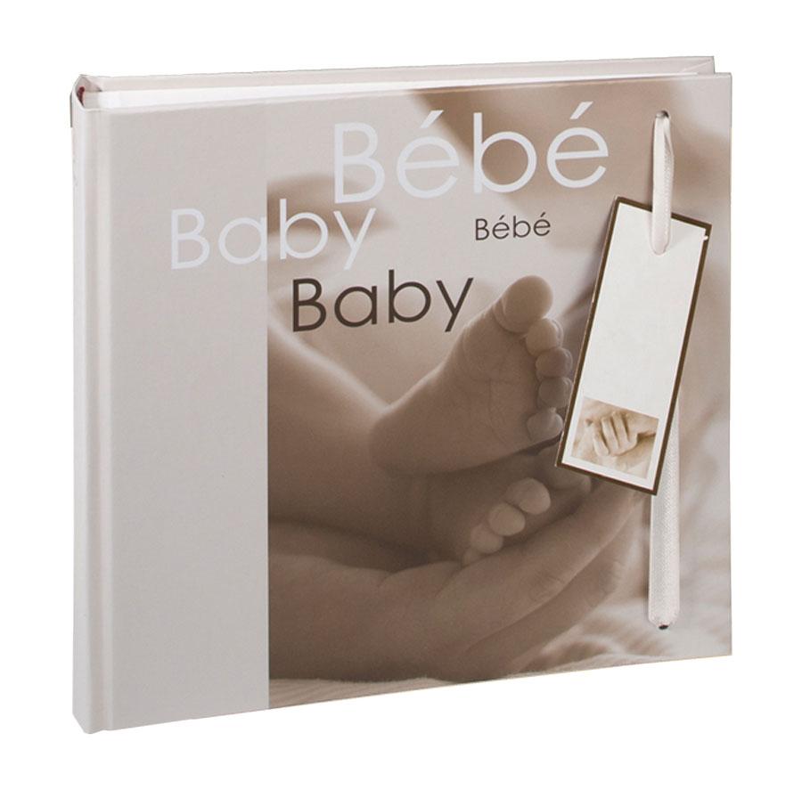 Steps Fotoalbum in 28x30,5 cm 60 Seiten Baby Kinder Foto Buch Album Geschenkbox