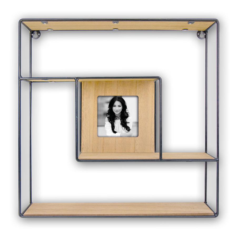gwen regal bilderrahmen in 10x10 cm h ngeregal foto rahmen drahtgestell idealfoto. Black Bedroom Furniture Sets. Home Design Ideas