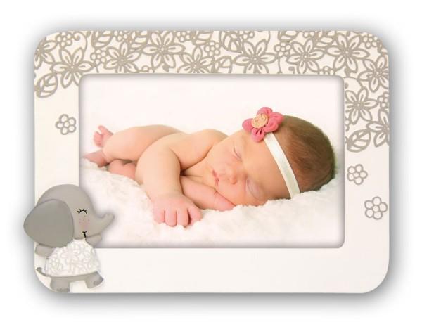 Rocco Kinder Bilderrahmen 10x15 cm Elefant Baby Foto Portrait Rahmen